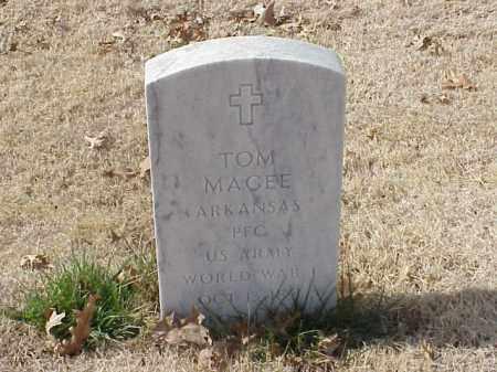 MAGEE (WWI), TOM - Pulaski County, Arkansas | TOM MAGEE (WWI) - Arkansas Gravestone Photos