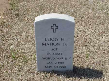 MAHON, SR (VETERAN WWII), LEROY - Pulaski County, Arkansas | LEROY MAHON, SR (VETERAN WWII) - Arkansas Gravestone Photos