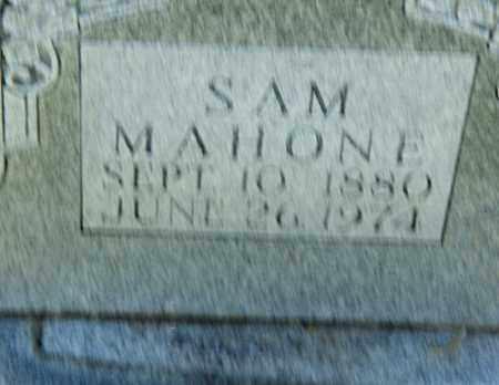 MAHONE, SAM - Pulaski County, Arkansas   SAM MAHONE - Arkansas Gravestone Photos