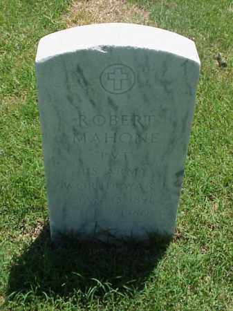 MAHONE (VETERAN WWI), ROBERT - Pulaski County, Arkansas | ROBERT MAHONE (VETERAN WWI) - Arkansas Gravestone Photos