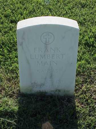 MAIN (VETERAN WWI), FRANK LUMBERT - Pulaski County, Arkansas | FRANK LUMBERT MAIN (VETERAN WWI) - Arkansas Gravestone Photos