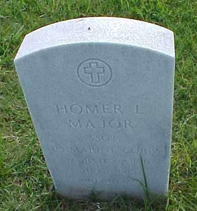 MAJOR (VETERAN WWII), HOMER L - Pulaski County, Arkansas | HOMER L MAJOR (VETERAN WWII) - Arkansas Gravestone Photos