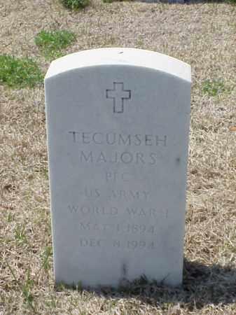 MAJORS (VETERAN WWI), TECUMSEH - Pulaski County, Arkansas | TECUMSEH MAJORS (VETERAN WWI) - Arkansas Gravestone Photos