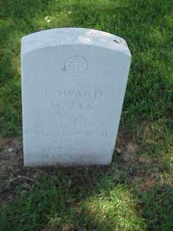 MALEK (VETERAN 3 WARS), EDWARD - Pulaski County, Arkansas   EDWARD MALEK (VETERAN 3 WARS) - Arkansas Gravestone Photos