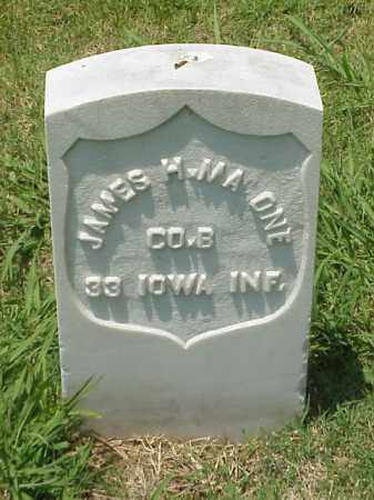 MALONE (VETERAN UNION), JAMES H - Pulaski County, Arkansas | JAMES H MALONE (VETERAN UNION) - Arkansas Gravestone Photos