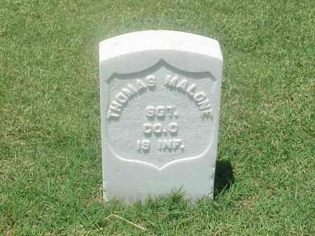 MALONE (VETERAN UNION), THOMAS - Pulaski County, Arkansas | THOMAS MALONE (VETERAN UNION) - Arkansas Gravestone Photos