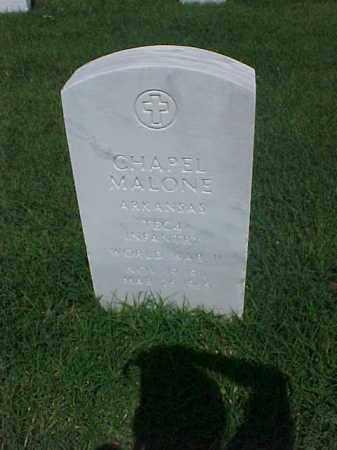 MALONE (VETERAN WWII), CHAPEL - Pulaski County, Arkansas | CHAPEL MALONE (VETERAN WWII) - Arkansas Gravestone Photos
