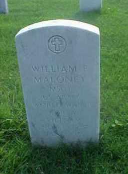 MALONEY (VETERAN 3 WARS), WILLIAM F - Pulaski County, Arkansas | WILLIAM F MALONEY (VETERAN 3 WARS) - Arkansas Gravestone Photos