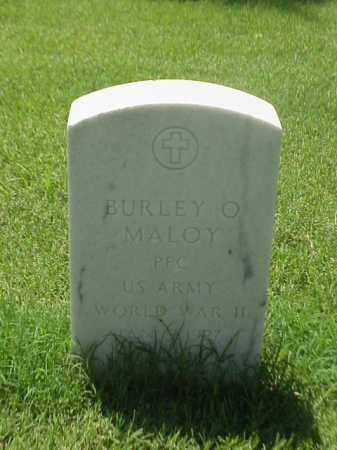 MALOY (VETERAN WWII), BURLEY O - Pulaski County, Arkansas | BURLEY O MALOY (VETERAN WWII) - Arkansas Gravestone Photos