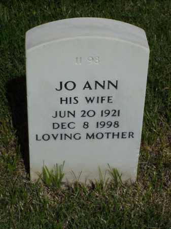 MANN, JO ANN - Pulaski County, Arkansas | JO ANN MANN - Arkansas Gravestone Photos