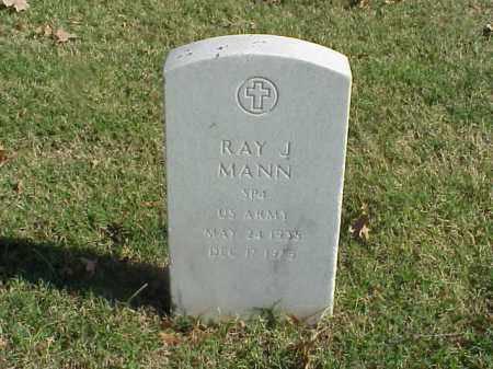 MANN (VETERAN), RAY J - Pulaski County, Arkansas | RAY J MANN (VETERAN) - Arkansas Gravestone Photos