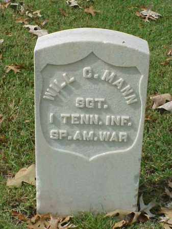 MANN (VETERAN SAW), WILL C - Pulaski County, Arkansas | WILL C MANN (VETERAN SAW) - Arkansas Gravestone Photos