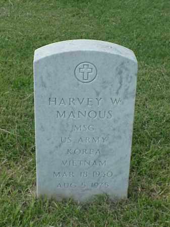 MANOUS (VETERAN 2 WARS), HARVEY W - Pulaski County, Arkansas | HARVEY W MANOUS (VETERAN 2 WARS) - Arkansas Gravestone Photos