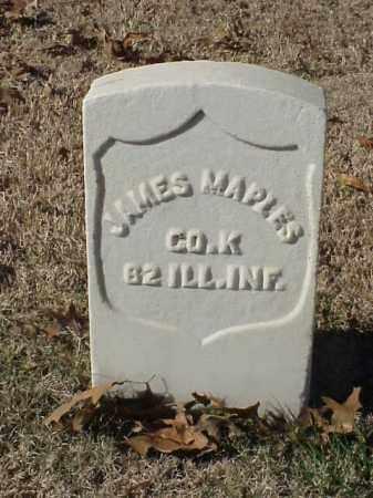 MAPLES (VETERAN UNION), JAMES - Pulaski County, Arkansas | JAMES MAPLES (VETERAN UNION) - Arkansas Gravestone Photos