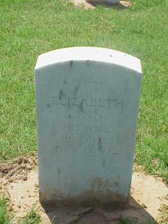 MARBLEY, ELIZABETH ANN - Pulaski County, Arkansas | ELIZABETH ANN MARBLEY - Arkansas Gravestone Photos