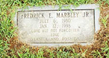 MARBLEY, JR., FREDRICK E. - Pulaski County, Arkansas   FREDRICK E. MARBLEY, JR. - Arkansas Gravestone Photos
