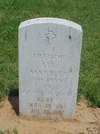 MARBLEY (VETERAN KOR), FREDDIE LEE - Pulaski County, Arkansas | FREDDIE LEE MARBLEY (VETERAN KOR) - Arkansas Gravestone Photos