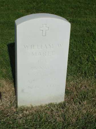 MAREE (VETERAN KOR), WILLIAM W - Pulaski County, Arkansas | WILLIAM W MAREE (VETERAN KOR) - Arkansas Gravestone Photos