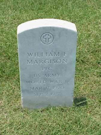 MARGISON (VETERAN WWII), WILLIAM F - Pulaski County, Arkansas | WILLIAM F MARGISON (VETERAN WWII) - Arkansas Gravestone Photos