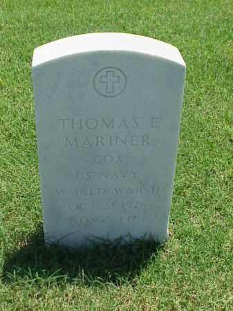 MARINER (VETERAN WWII), THOMAS E - Pulaski County, Arkansas | THOMAS E MARINER (VETERAN WWII) - Arkansas Gravestone Photos