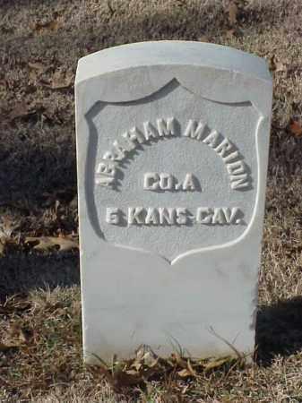 MARION (VETERAN UNION), ABRAHAM - Pulaski County, Arkansas   ABRAHAM MARION (VETERAN UNION) - Arkansas Gravestone Photos