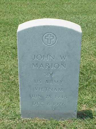 MARION (VETERAN VIET), JOHN W - Pulaski County, Arkansas   JOHN W MARION (VETERAN VIET) - Arkansas Gravestone Photos
