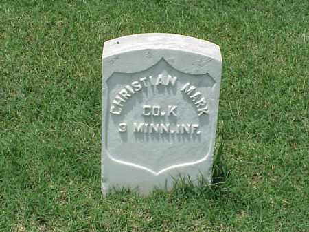 MARK (VETERAN UNION), CHRISTIAN - Pulaski County, Arkansas | CHRISTIAN MARK (VETERAN UNION) - Arkansas Gravestone Photos