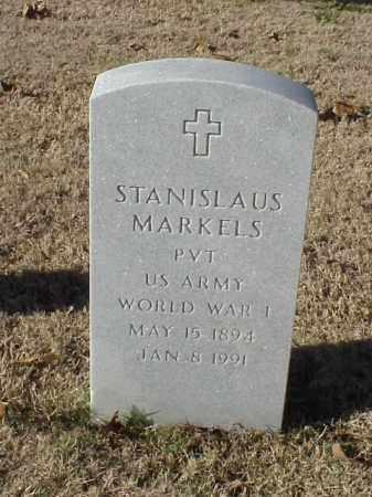 MARKELS (VETERAN WWI), STANISLAUS - Pulaski County, Arkansas | STANISLAUS MARKELS (VETERAN WWI) - Arkansas Gravestone Photos