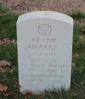 MARKS  (VETERAN WWI), FRANK - Pulaski County, Arkansas | FRANK MARKS  (VETERAN WWI) - Arkansas Gravestone Photos