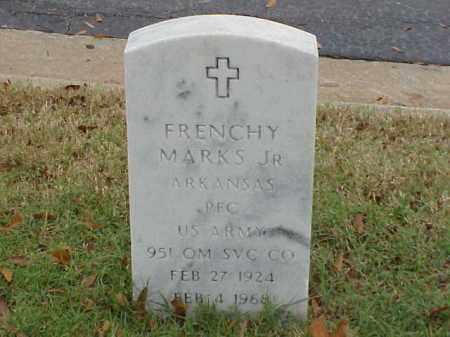 MARKS, JR (VETERAN WWII), FRENCHY - Pulaski County, Arkansas | FRENCHY MARKS, JR (VETERAN WWII) - Arkansas Gravestone Photos