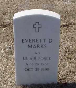 MARKS (VETERAN), EVERETT D - Pulaski County, Arkansas | EVERETT D MARKS (VETERAN) - Arkansas Gravestone Photos