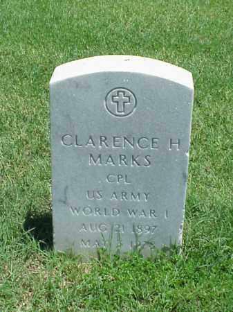 MARKS (VETERAN WWI), CLARENCE H - Pulaski County, Arkansas | CLARENCE H MARKS (VETERAN WWI) - Arkansas Gravestone Photos