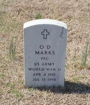 MARKS (VETERAN WWII), O D - Pulaski County, Arkansas   O D MARKS (VETERAN WWII) - Arkansas Gravestone Photos