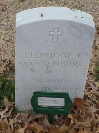 MARSENBURG (VETERAN WWII), ELDRIDGE L - Pulaski County, Arkansas   ELDRIDGE L MARSENBURG (VETERAN WWII) - Arkansas Gravestone Photos
