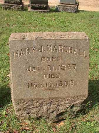 MARSHALL, MARY J - Pulaski County, Arkansas   MARY J MARSHALL - Arkansas Gravestone Photos