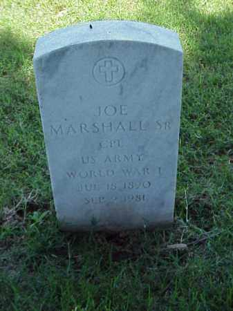 MARSHALL, SR (VETERAN WWI), JOE - Pulaski County, Arkansas | JOE MARSHALL, SR (VETERAN WWI) - Arkansas Gravestone Photos