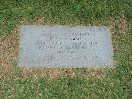MARSHALL (VETERAN KOR), ELBERT - Pulaski County, Arkansas | ELBERT MARSHALL (VETERAN KOR) - Arkansas Gravestone Photos