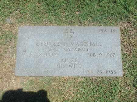 MARSHALL, ALICE - Pulaski County, Arkansas   ALICE MARSHALL - Arkansas Gravestone Photos