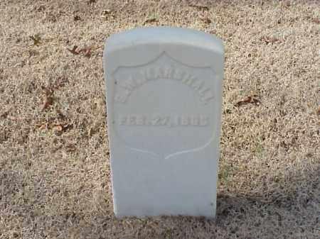 MARSHALL (VETERAN UNION), GEORGE W - Pulaski County, Arkansas | GEORGE W MARSHALL (VETERAN UNION) - Arkansas Gravestone Photos