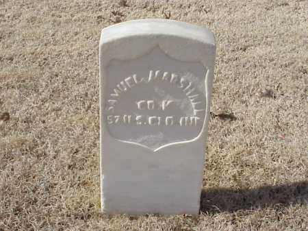 MARSHALL (VETERAN UNION), SAMUEL - Pulaski County, Arkansas | SAMUEL MARSHALL (VETERAN UNION) - Arkansas Gravestone Photos