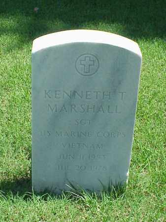 MARSHALL (VETERAN VIET), KENNETH T - Pulaski County, Arkansas | KENNETH T MARSHALL (VETERAN VIET) - Arkansas Gravestone Photos