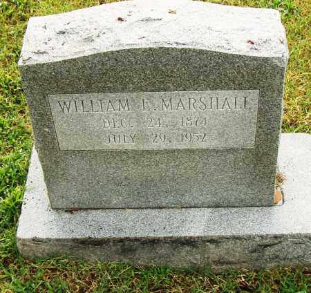 MARSHALL, WILLIAM E. - Pulaski County, Arkansas   WILLIAM E. MARSHALL - Arkansas Gravestone Photos