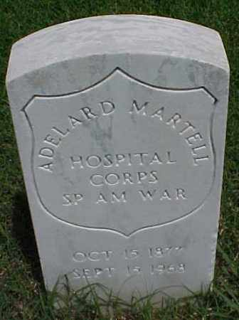 MARTELL (VETERAN SAW), ADELARD - Pulaski County, Arkansas | ADELARD MARTELL (VETERAN SAW) - Arkansas Gravestone Photos