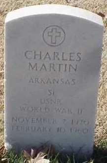 MARTIN  (VETERAN WWII), CHARLES - Pulaski County, Arkansas | CHARLES MARTIN  (VETERAN WWII) - Arkansas Gravestone Photos