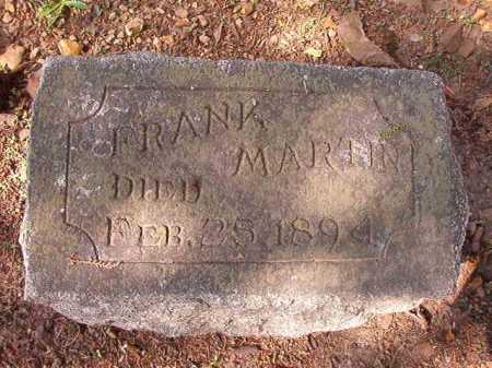 MARTIN, FRANK - Pulaski County, Arkansas | FRANK MARTIN - Arkansas Gravestone Photos