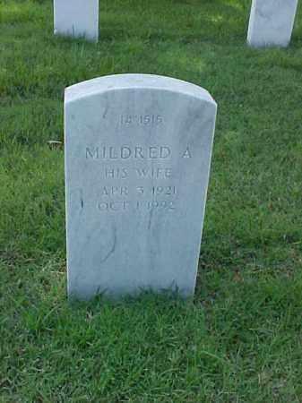 MARTIN, MILDRED A - Pulaski County, Arkansas | MILDRED A MARTIN - Arkansas Gravestone Photos