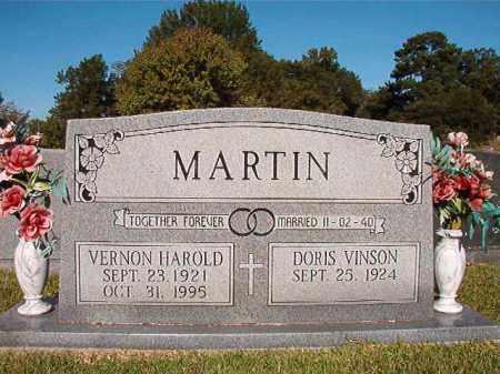 MARTIN, VERNON HAROLD - Pulaski County, Arkansas   VERNON HAROLD MARTIN - Arkansas Gravestone Photos