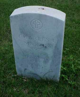 MARTIN (VETERAN 3 WARS), CHARLES L - Pulaski County, Arkansas | CHARLES L MARTIN (VETERAN 3 WARS) - Arkansas Gravestone Photos
