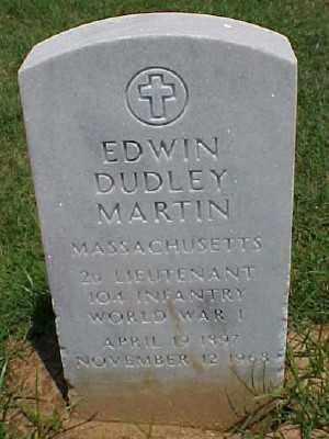 MARTIN (VETERAN WWI), EDWIN DUDLEY - Pulaski County, Arkansas | EDWIN DUDLEY MARTIN (VETERAN WWI) - Arkansas Gravestone Photos