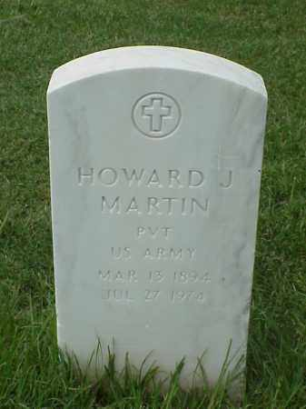 MARTIN (VETERAN WWI), HOWARD J - Pulaski County, Arkansas | HOWARD J MARTIN (VETERAN WWI) - Arkansas Gravestone Photos